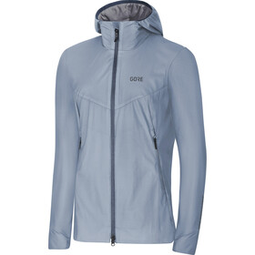 GORE WEAR H5 Windstopper Chaqueta aislante con capucha Mujer, cloudy blue/deep water blue